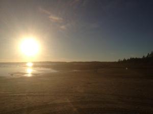 Visit Singing Sands beach